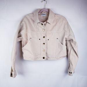 Urban Outfitters Jean jacket Snap Button Pockets M
